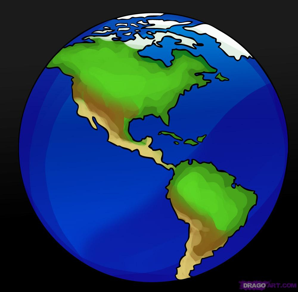 1000x981 Simple Drawing Of Earth How To Draw Earth, Step By Step, Outer