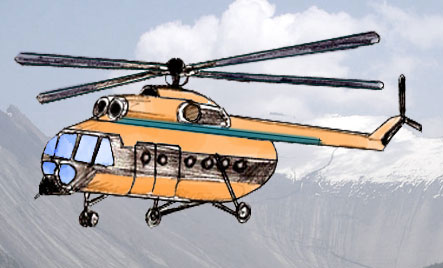 443x268 How To Draw A Helicopter