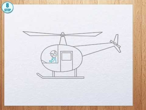 480x360 How To Draw Helicopter