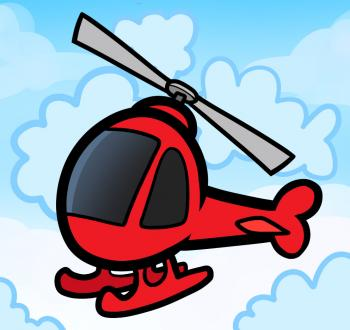 350x330 How To Draw How To Draw A Helicopter For Kids