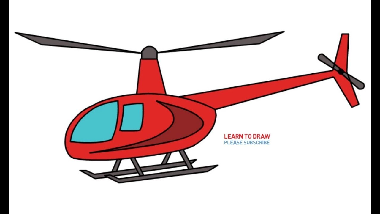 Simple Helicopter Drawing at GetDrawings.com | Free for personal use ...