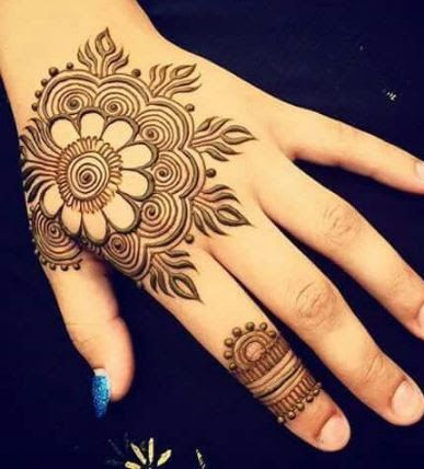 387x428 86 Best Henna Images On Tattoo Ideas, Henna Designs