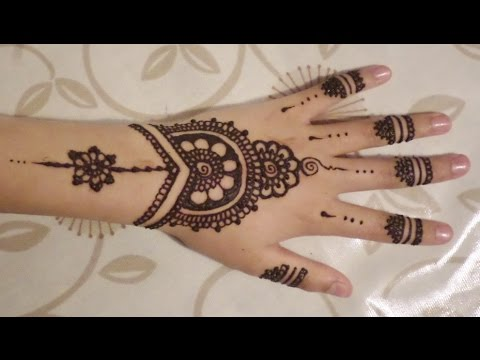 480x360 Simple Cute Henna Design