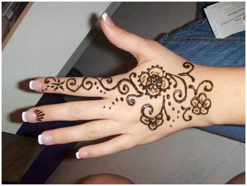 Simple Mehndi Tattoo Hands : Simple henna drawing at getdrawings free for personal use