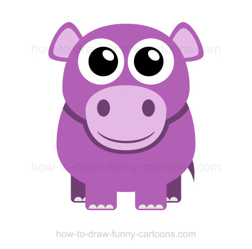 simple hippo drawing at getdrawings com free for personal use