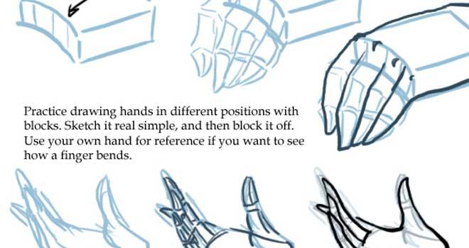 660x350 Collection Of How To Draw Hands Tutorials Ninja Crunch