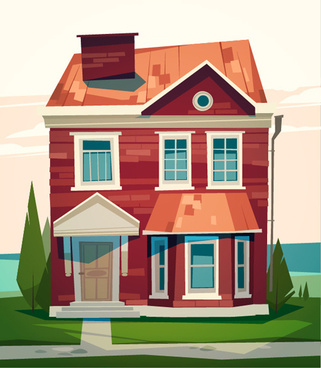 321x368 Simple House Drawing Free Vector Download (92,274 Free Vector) For