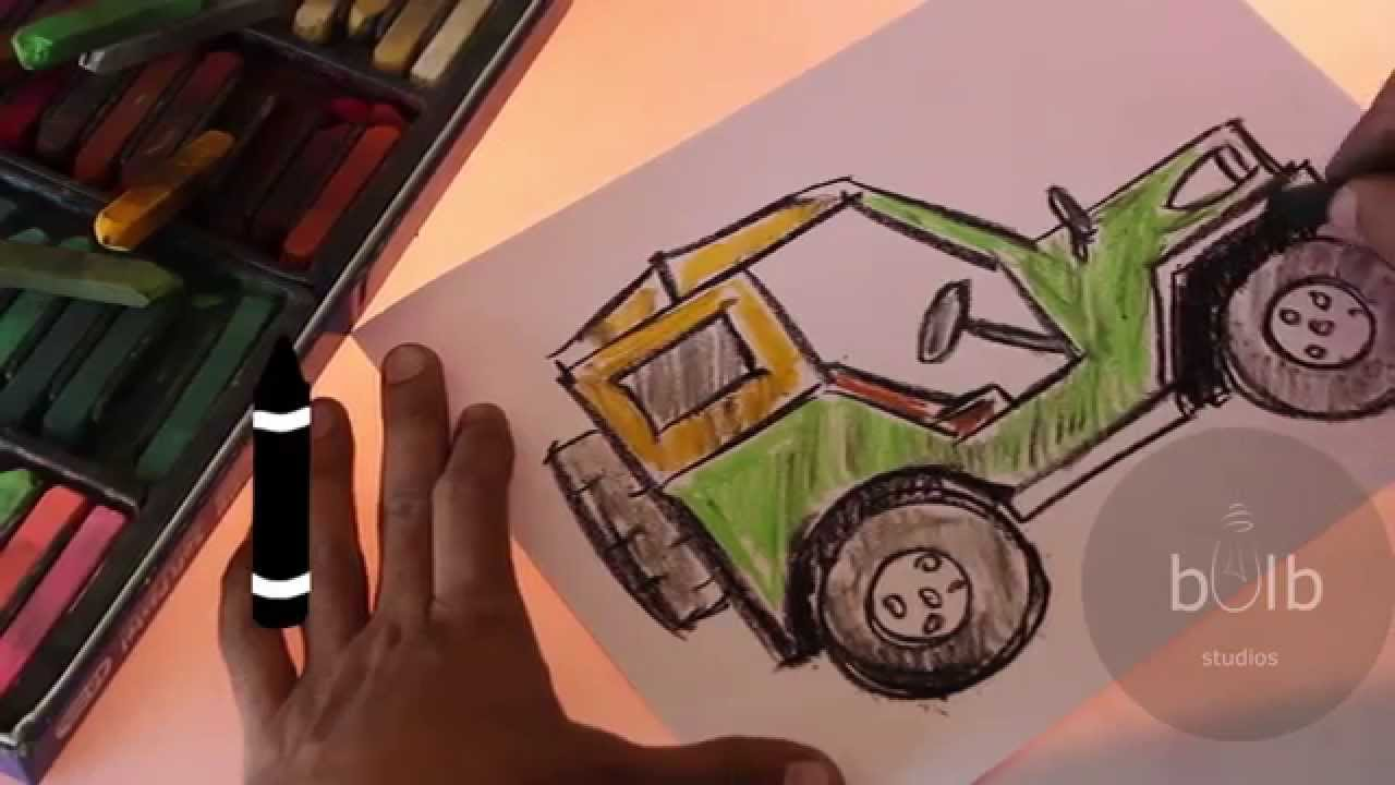 1280x720 How To Draw A Jeep Scribble For Kids