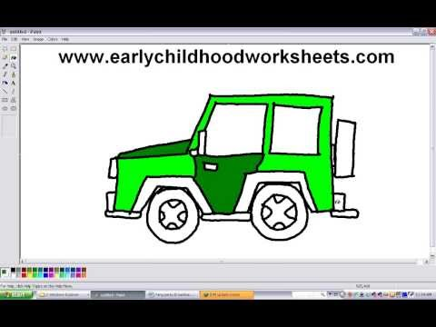480x360 Simple Drawing Of A Jeep