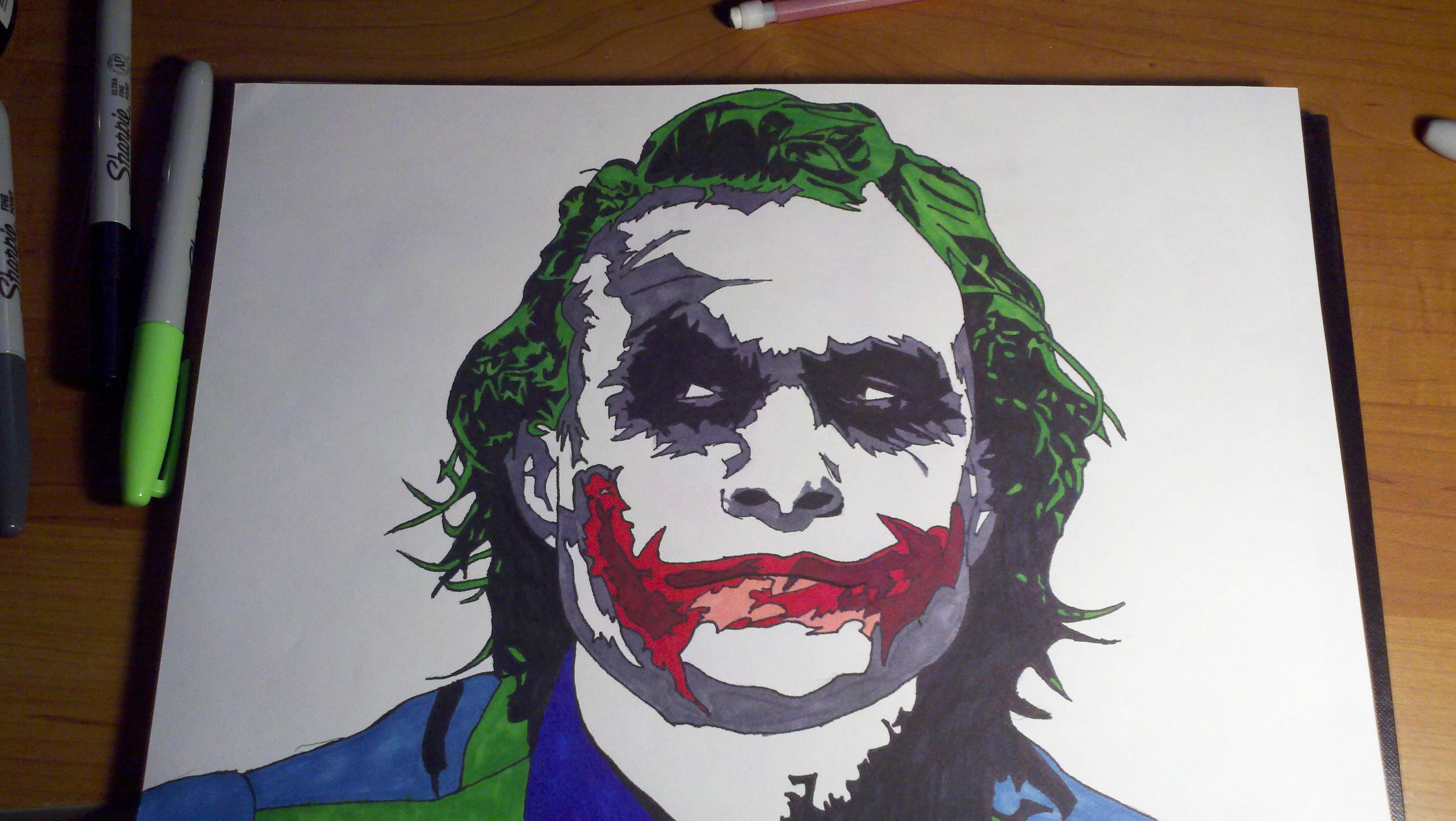 20 New For Drawing Sketch Pencil Art Joker