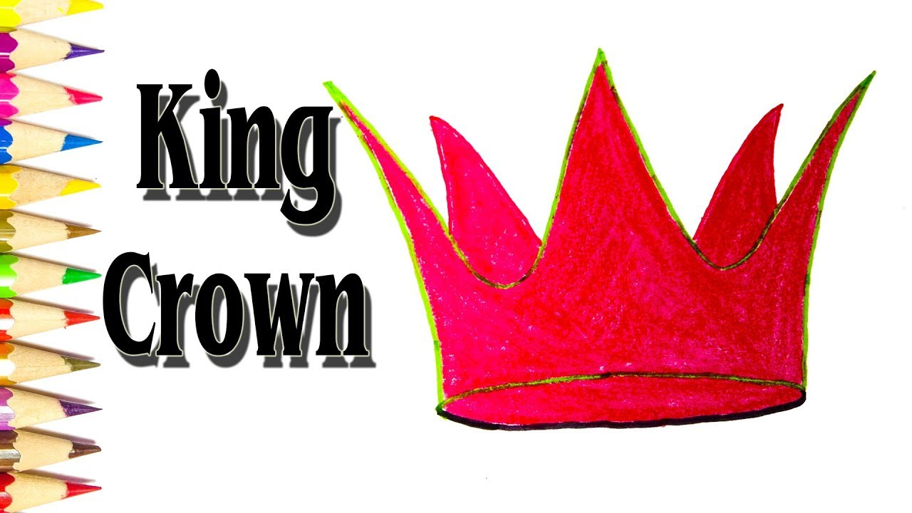 1280x720 Simple King Crown Drawing How To Draw A King Crown Easy Sld