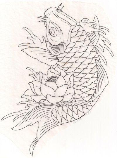 400x541 Koi Fish