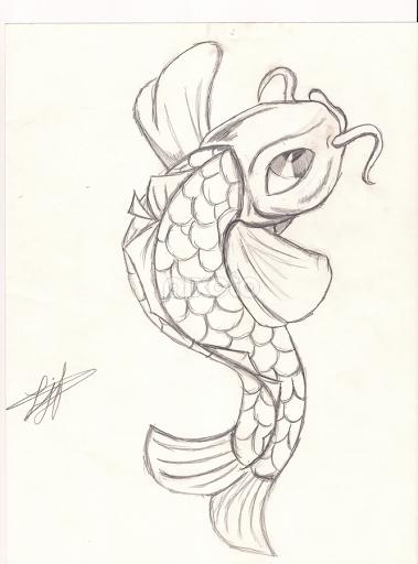 379x512 More Simple Koi Fish Studio Art Koi