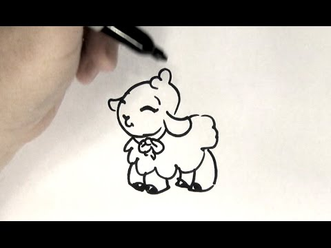 480x360 How To Draw A Lamb