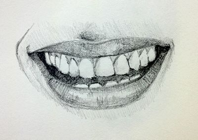 400x283 How To Draw An Open Mouth