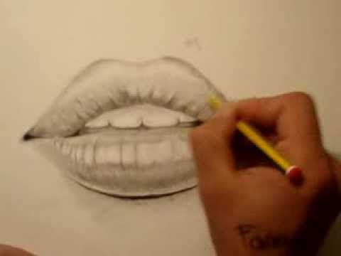 480x360 Drawing Mouthlips By Using The Grid, Easy And Simple, Faiz 1.3