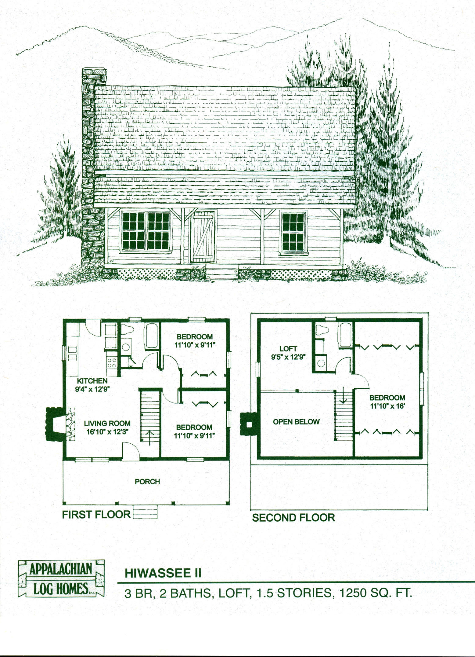 Simple log cabin drawing at free for for Log homes floor plans with pictures