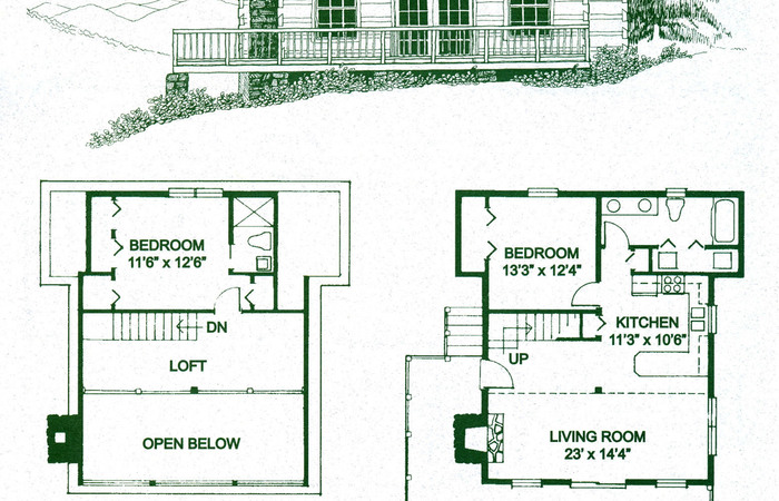 700x450 Log Cabin Plans S Luxi Floor Small Home Bathrooms Living Room
