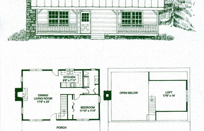 700x450 Wow Simple Log Cabin Floor Plans New Home Design Drawing Interior