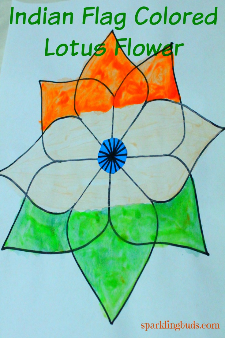735x1100 Indian Flag Painting Ideas