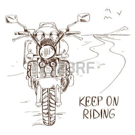 450x450 Afbeeldingsresultaat Voor Simple Drawing Motorcycle Travel