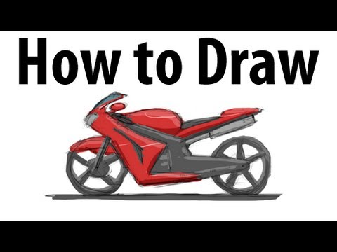 480x360 How To Draw A Motorcycle