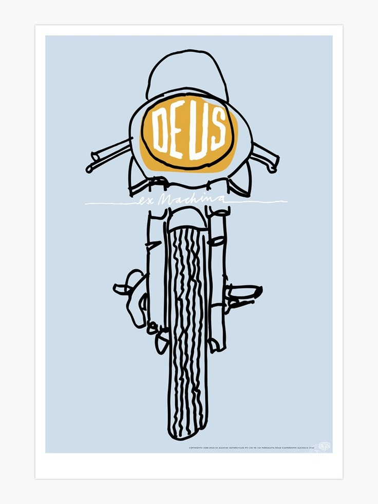 736x981 Image Result For Deus Bike Illustration Deus Bike