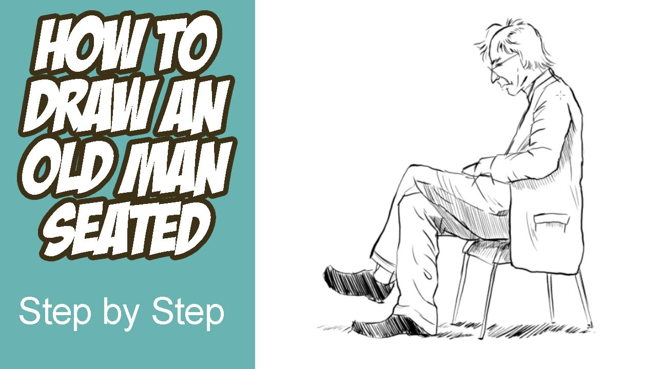 Simple Old Man Drawing At Getdrawings Com Free For