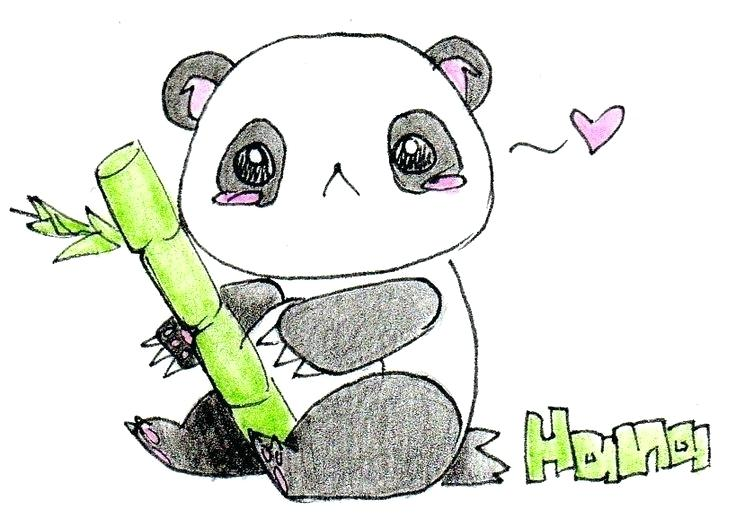 Simple Panda Drawing At Getdrawings Com Free For Personal Use