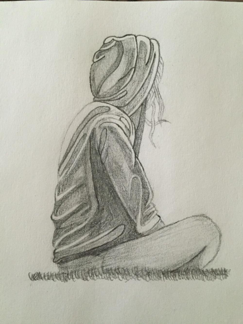 1000x1334 Simple Pencil Sketch Sad Pencil Sketch Drawing Boy Simple Pencil