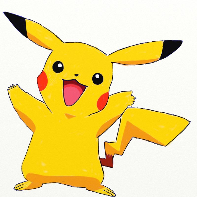 Simple Pikachu Drawing At Getdrawings Com Free For Personal Use