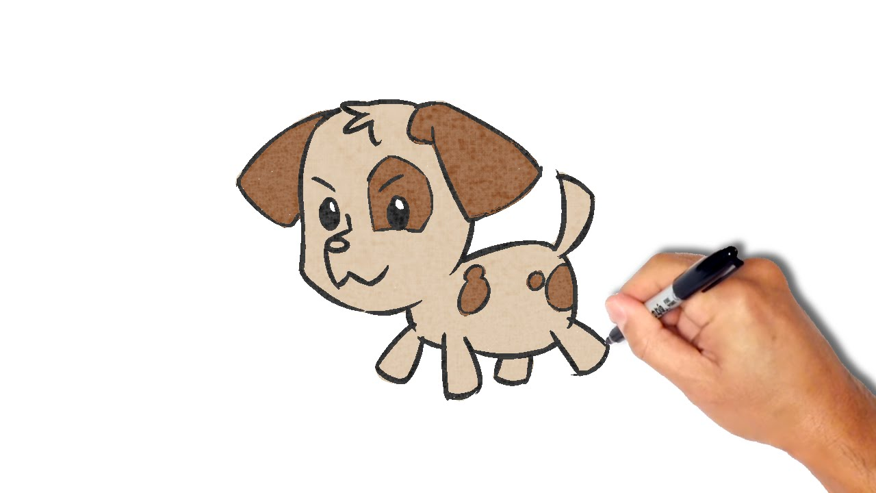 Simple Puppy Drawing at GetDrawings com | Free for personal
