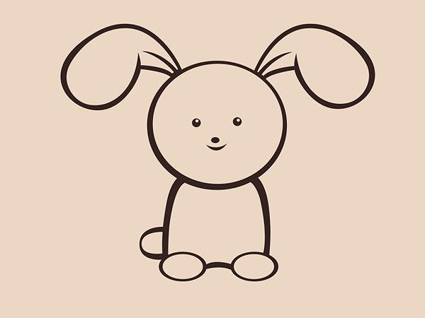 600x450 Draw A Simple Bunny
