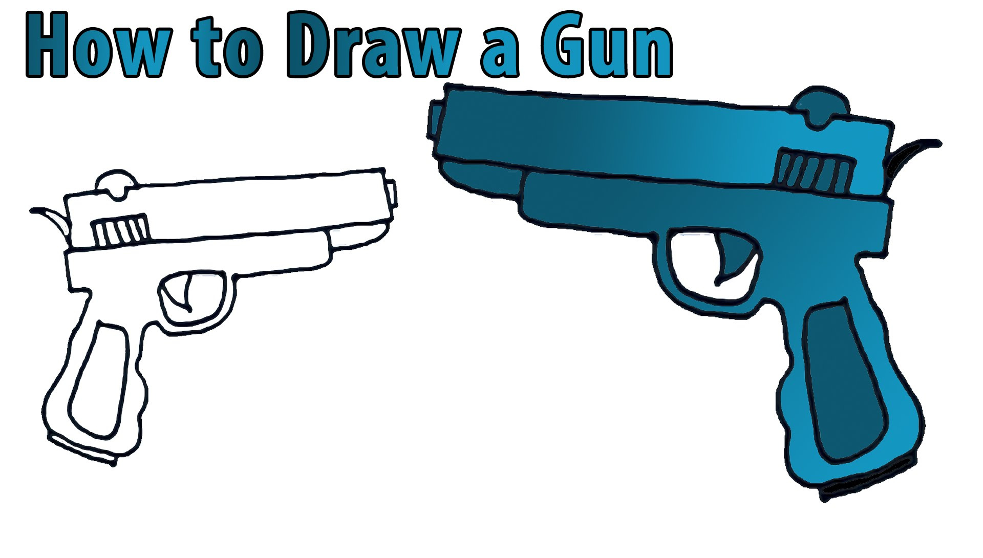 Simple Revolver Drawing At Getdrawings Com Free For Personal Use