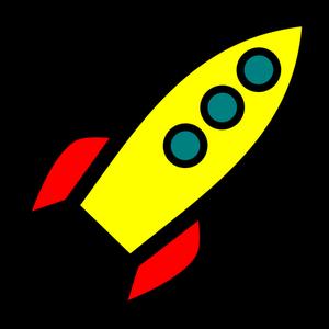 300x300 172 Rocket Launch Clip Art Public Domain Vectors