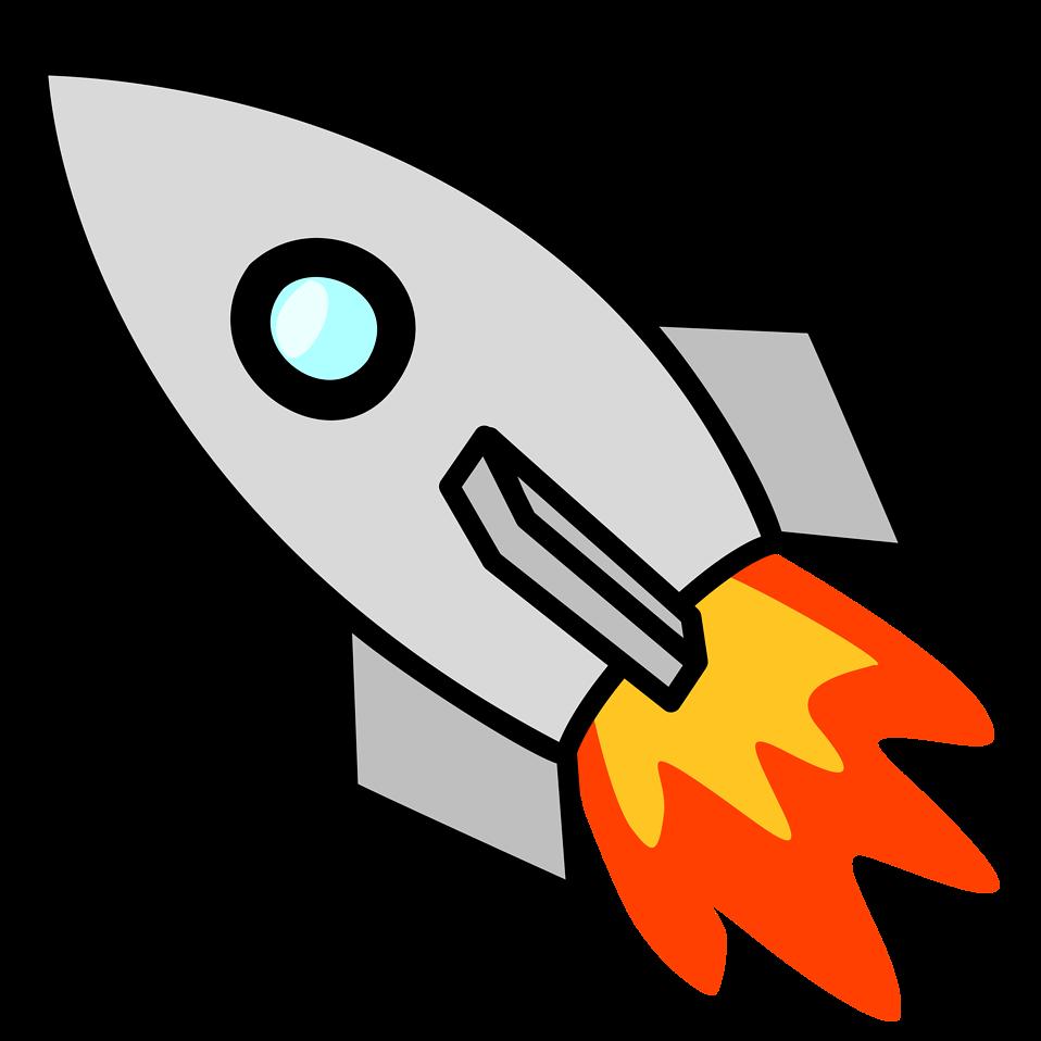 958x958 Rocket Free Stock Photo Illustration Of A Rocket