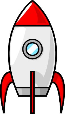 229x400 Rocket Ship Pattern. Use The Printable Outline For Crafts
