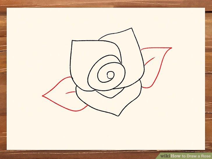 728x546 3 Ways To Draw A Rose