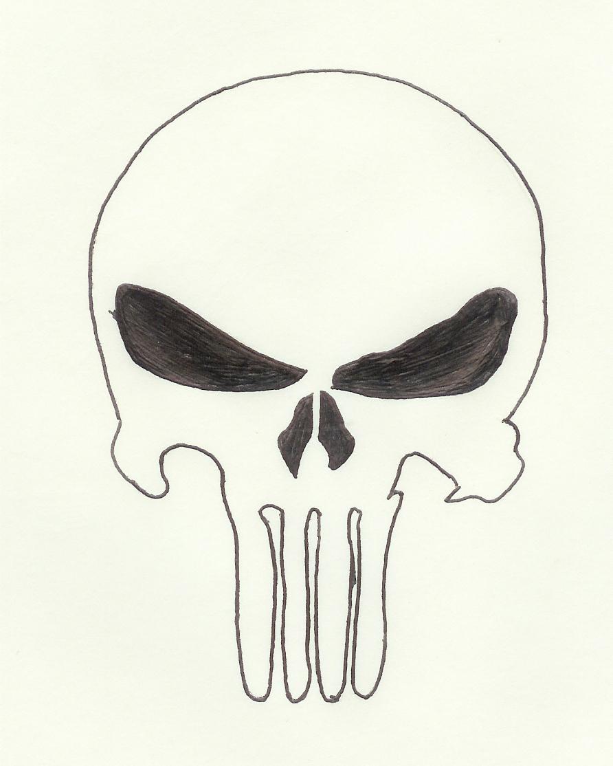 892x1114 Simple Skull Tattoo Designs