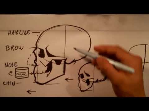 480x360 How To Draw Skull Drawings