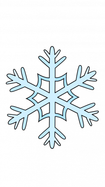 215x382 How To Draw Snowflake, Winter, Snow, Easy Step By Step Drawing