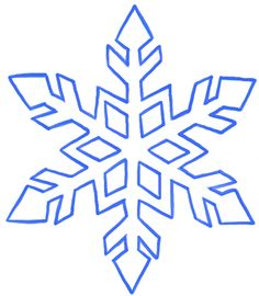236x270 How To Draw A Snowflake