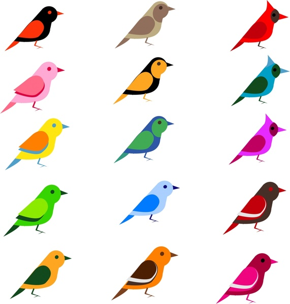 571x600 Simple Birds Free Vector In Open Office Drawing Svg ( Svg
