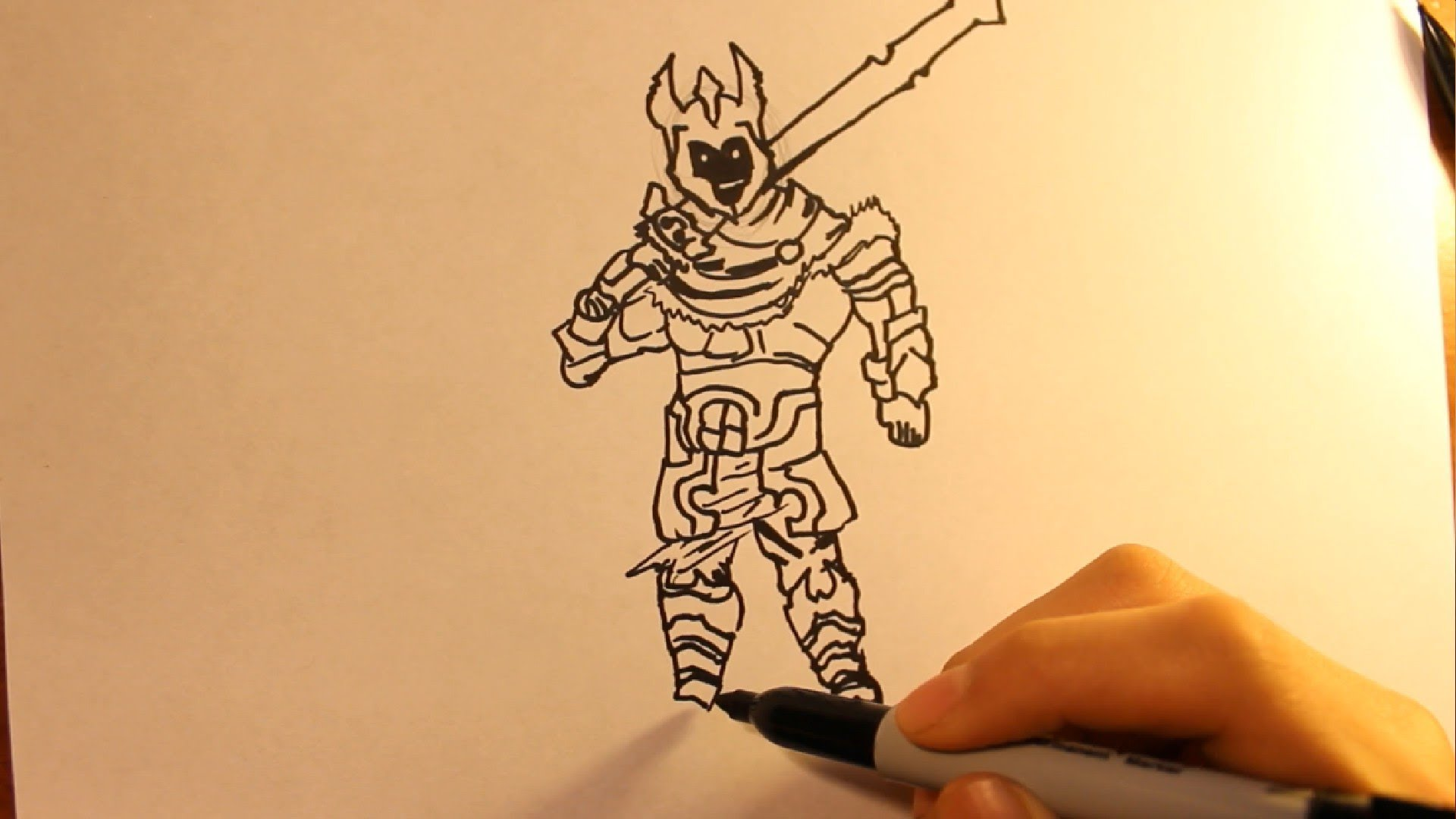 1920x1080 How To Draw A Cartoon Armoreasy Drawing Tutorial Sword