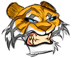 Simple tiger drawing at getdrawings free for personal use 250x204 free drawing lessons how to draw drawing power publicscrutiny Images