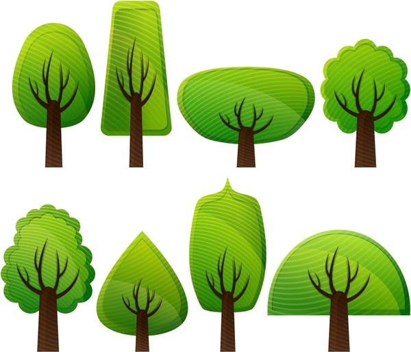 600x515 Simple Trees Free Vector In Open Office Drawing Svg ( Svg