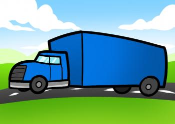 350x249 How To Draw How To Draw A Truck For Kids