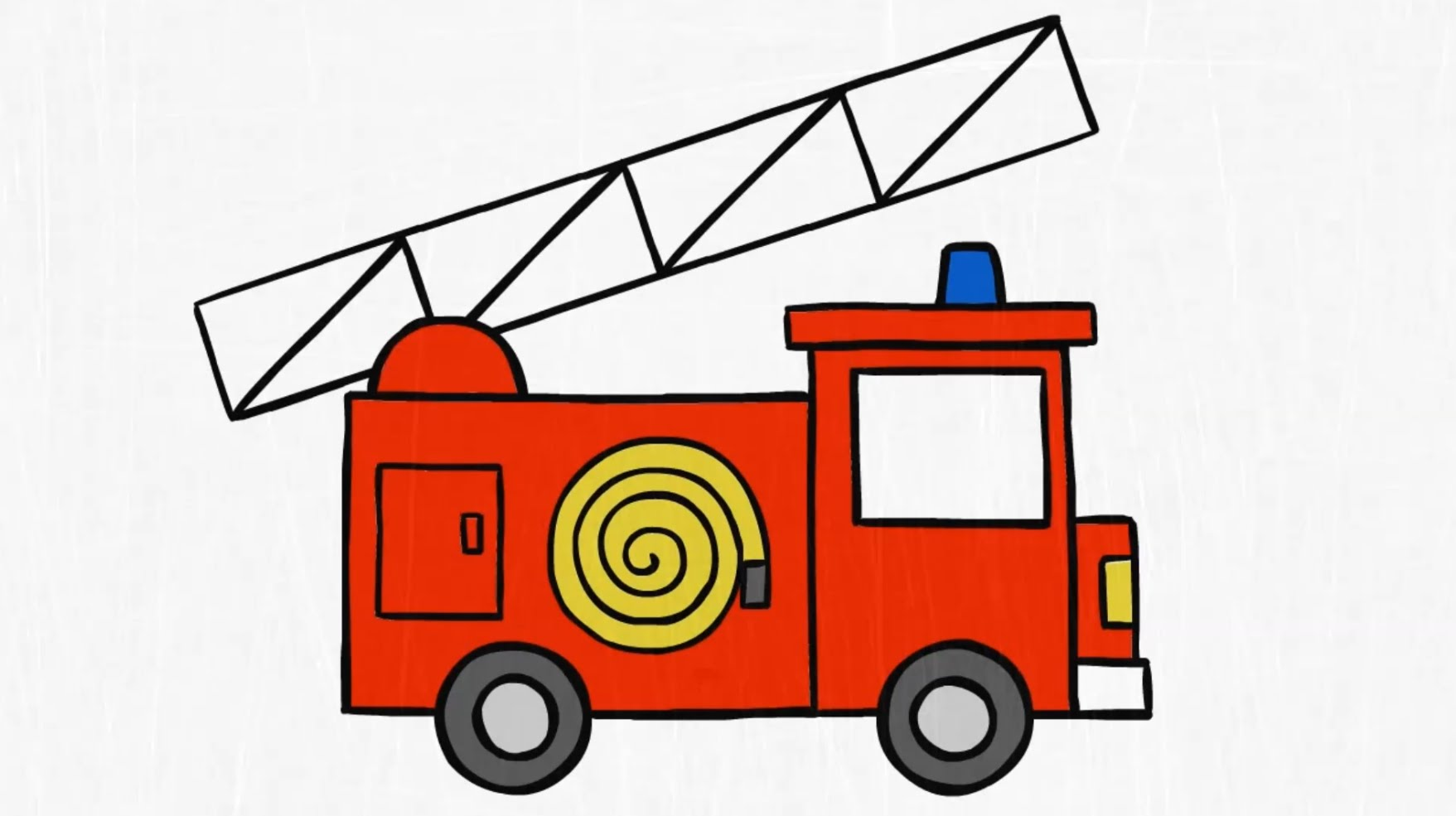 1757x985 How To Draw. A Fire Truck