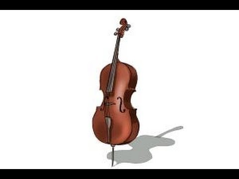 480x360 How To Draw A Cello