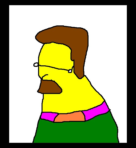 550x600 Hilariously Bad Simpsons Drawings